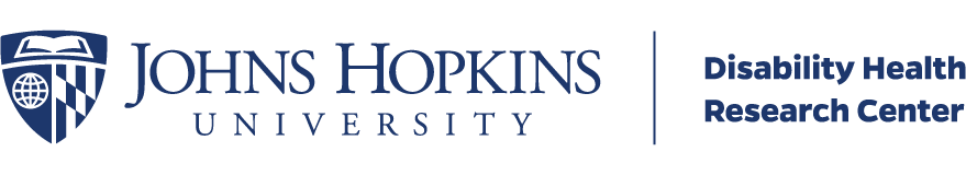Johns Hopkins University - Disability Health Research Center logo